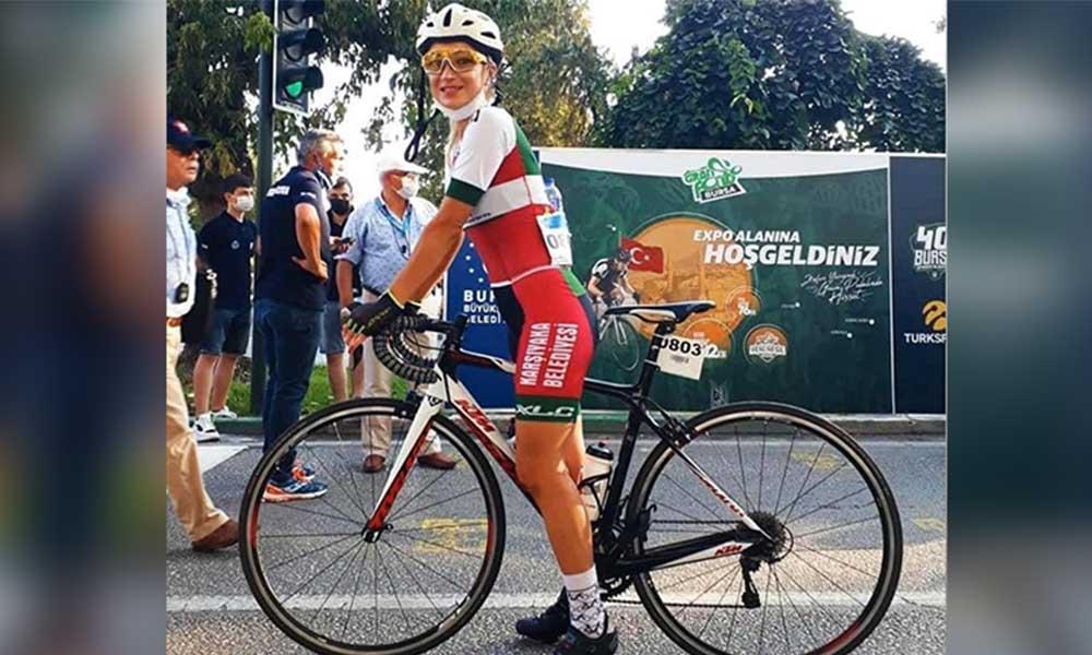 Bisiklet antrenmanı yapan Zeynep Aslan'a kamyon çarptı!