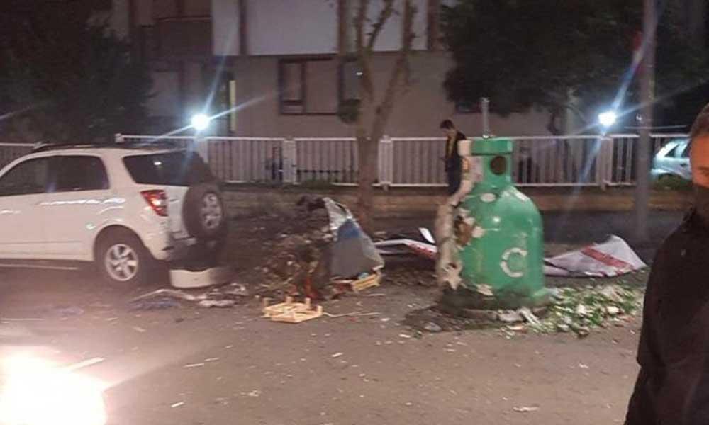 Ataşehir'de patlama: Can kaybı yok