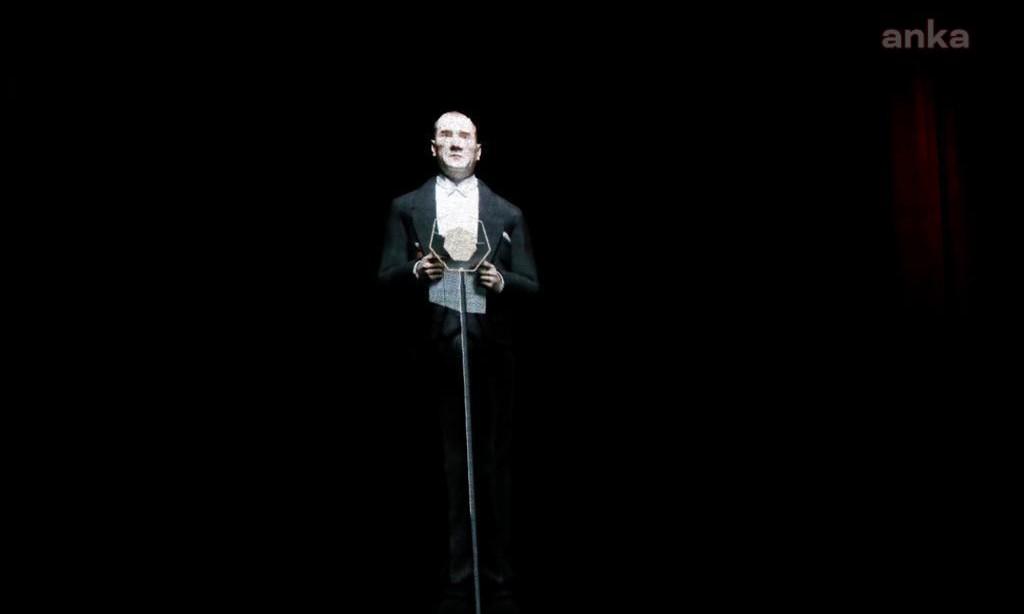 İBB, Türkiye'nin ilk Atatürk hologramını 29 Ekim'de tüm ülkeyle buluşturacak