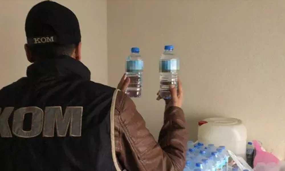 Aydın'da sahte içki yüzünden bir kişi hayatını kaybetti