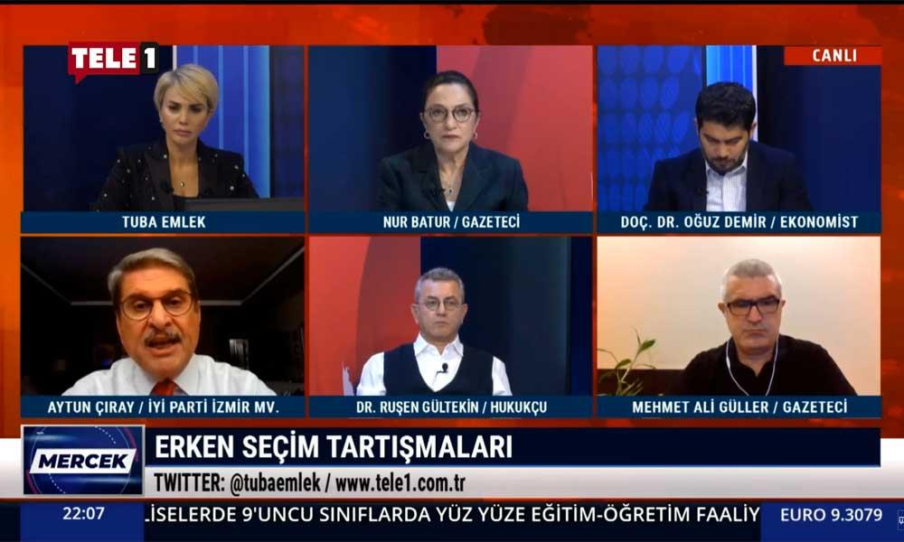 Aytun Çıray: Erdoğan'ın yeniden seçilmesinin 2 yolu var