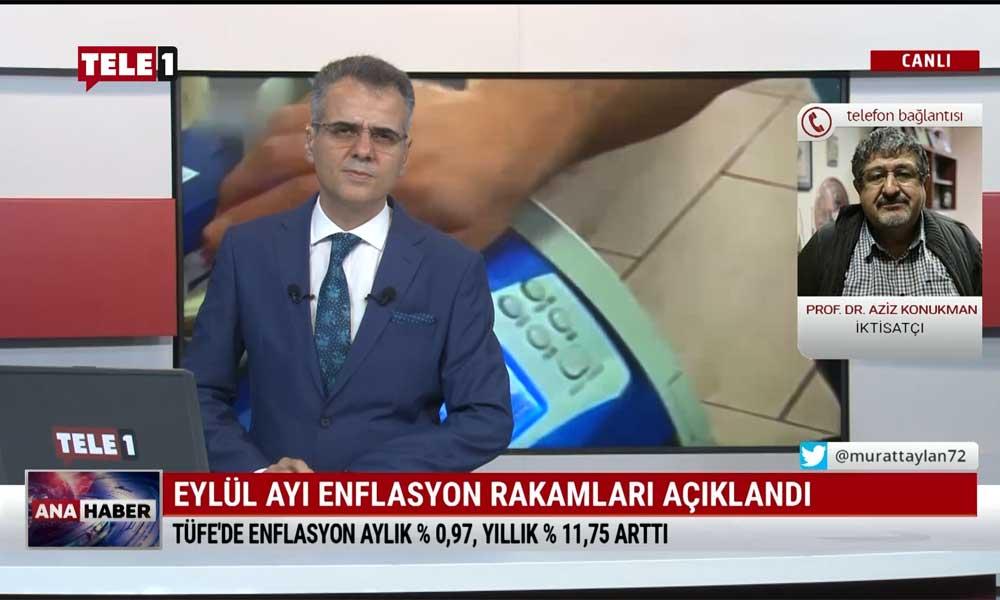 İktisatçı Prof. Dr. Aziz Konukman: TÜİK'in açıkladığı ortalama enflasyon, öyle bir vatandaş yaşamıyor