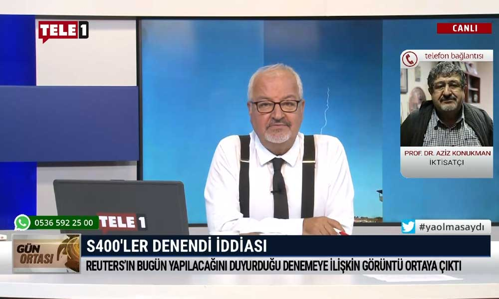 Türkiye S-400'leri denedi mi? Sinop'ta yaşayan Prof. Dr. Aziz Konukman TELE1'e açıkladı