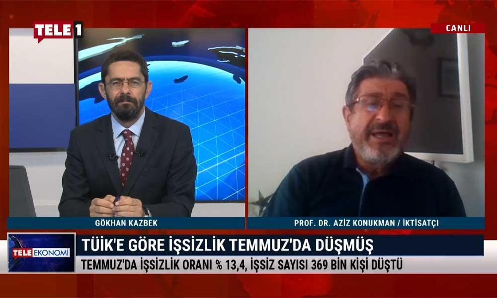 Prof. Dr. Aziz Konukman: TÜİK'in kendine çeki düzen vermesi gerekiyor