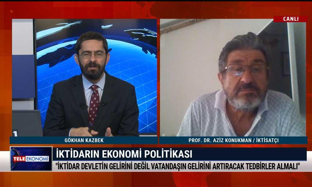 İktisatçı Prof. Dr. Aziz Konukman: Türkiye'de açlık sınırının bile konuşulması felaket