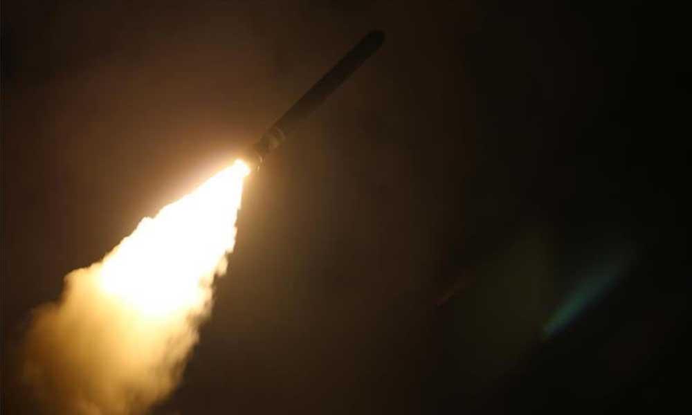 ABD'den gece yarısı balistik füze testi