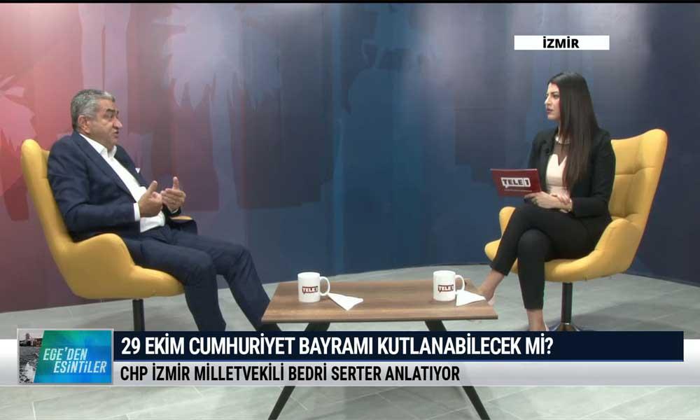 CHP İzmir Milletvekili Bedri Serter: En yakın zamanda erken seçim olmalı