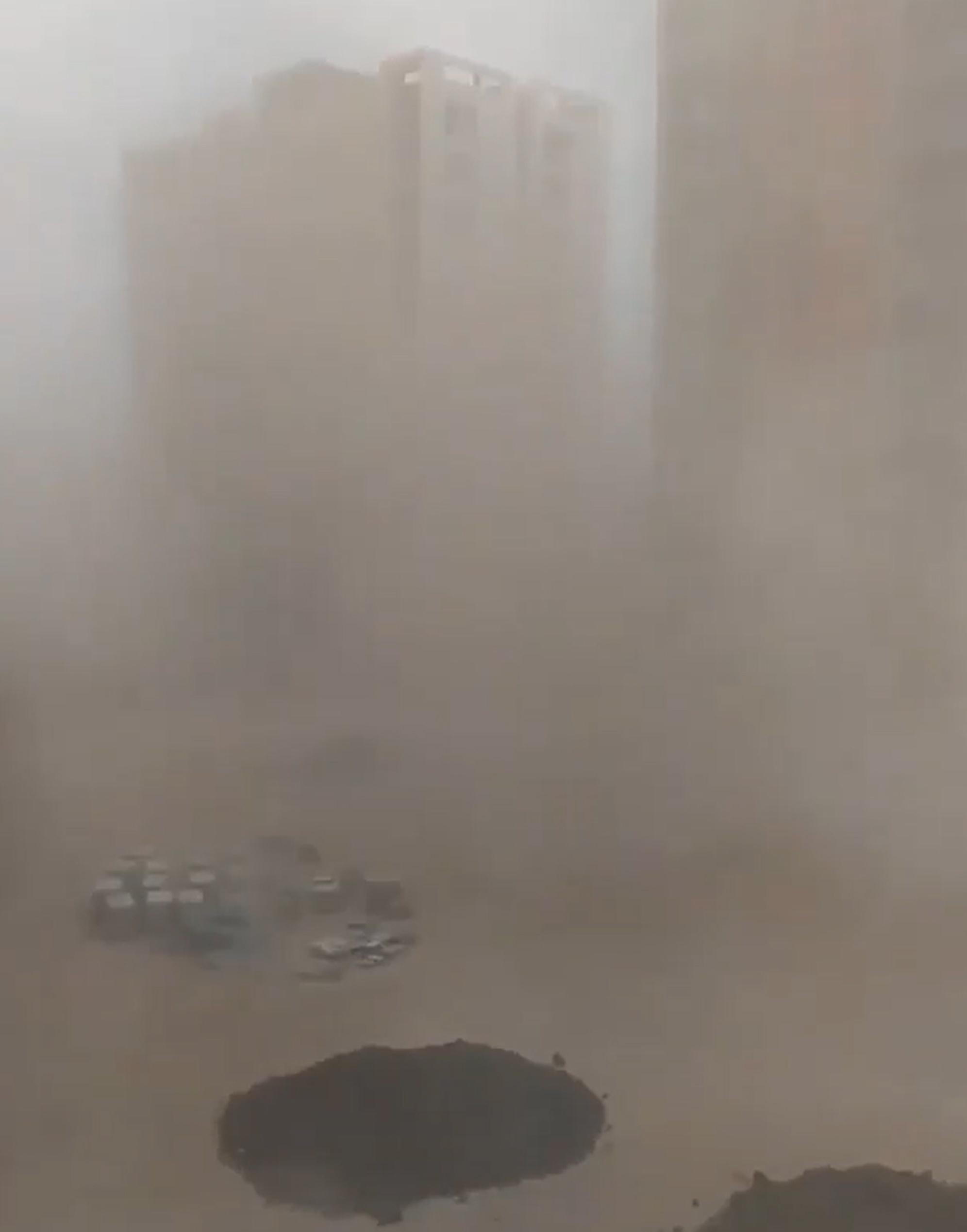 Antalya'da toz bulutları oluştu