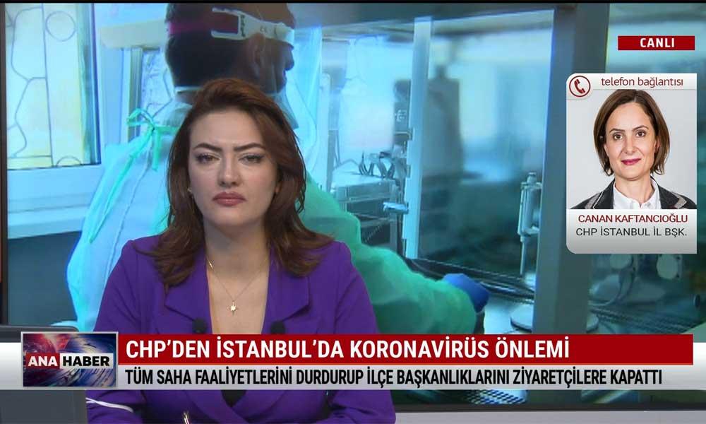 Canan Kaftancıoğlu: Önlemler alınmamaya devam ederse sürecin kontrol altına alınamayacağını görüyoruz