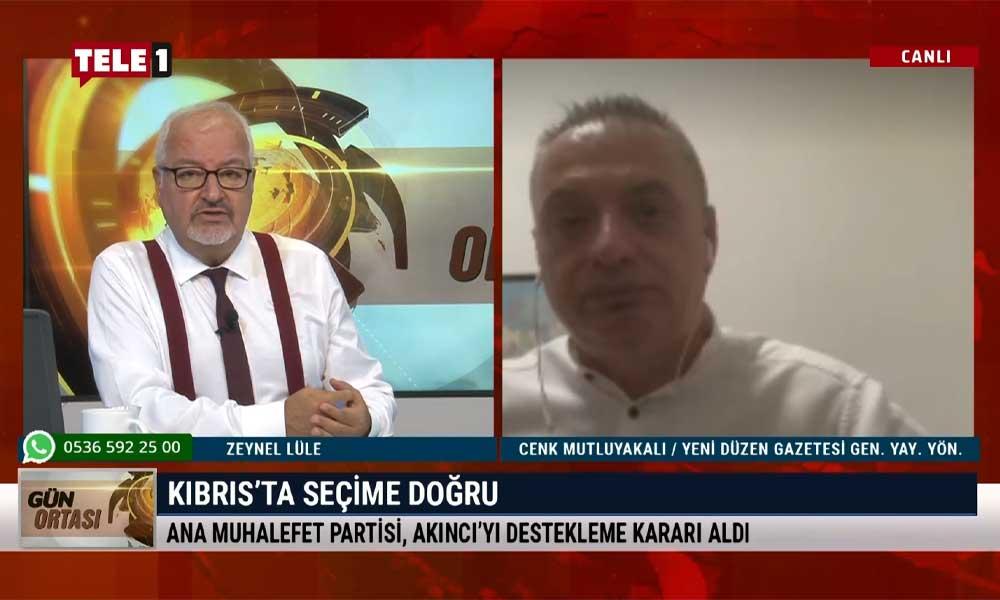 Gazeteci Cenk Mutluyakalı: Kuzey Kıbrıs'taki seçimlere çok açık müdahale oldu