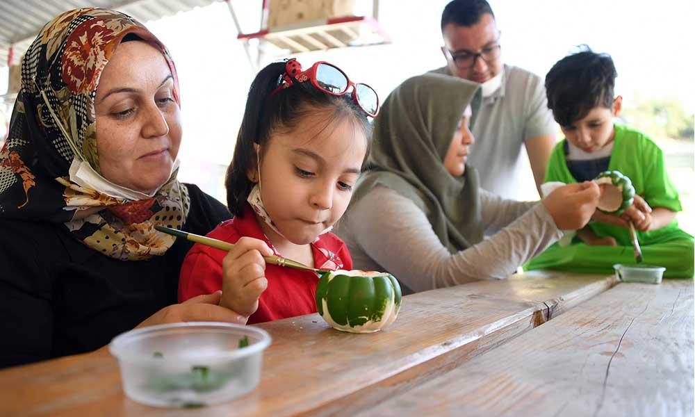 Mersin Büyükşehir'den serebral palsili çocuklara özel bir gün