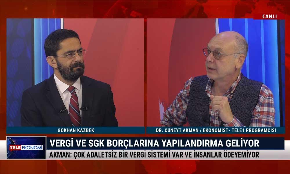 İktisatçı Cüneyt Akman: Açıklanan rakamlar AVM'lerdeki fiyat indirimlerine benziyor