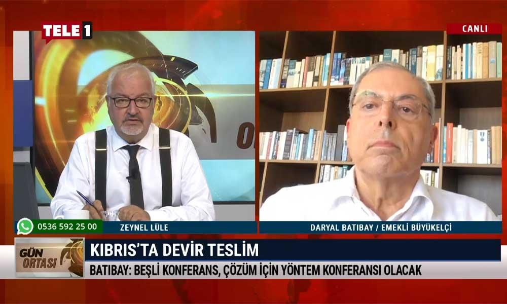 Emekli Büyükelçi Daryal Batıbay: Tatar'ın seçilmesi Kıbrıs'ta federal çözüme olan desteğin azaldığını gösteriyor