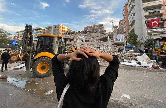 6.9'luk İzmir depremi sonrası can kaybı 115'e yükseldi