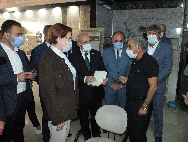 Akşener: Türkiye, mutlaka ateşkes masasında olmalı