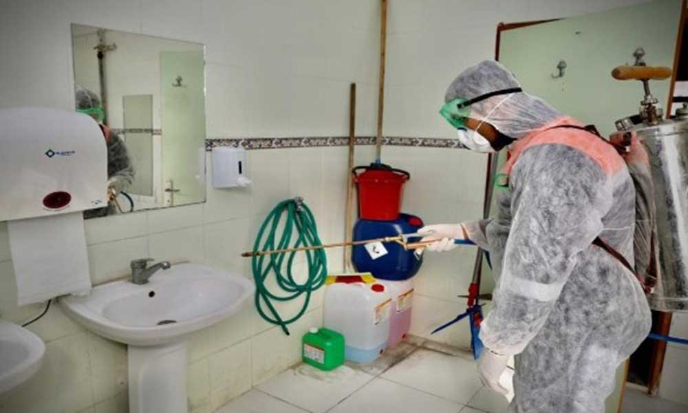 Didim'de dezenfekte çalışmaları sürüyor