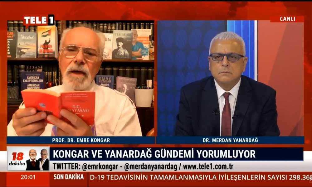 Emre Kongar: Türkiye Cumhuriyeti bugün Anayasa'da belirlenen niteliklerini kaybetmiştir
