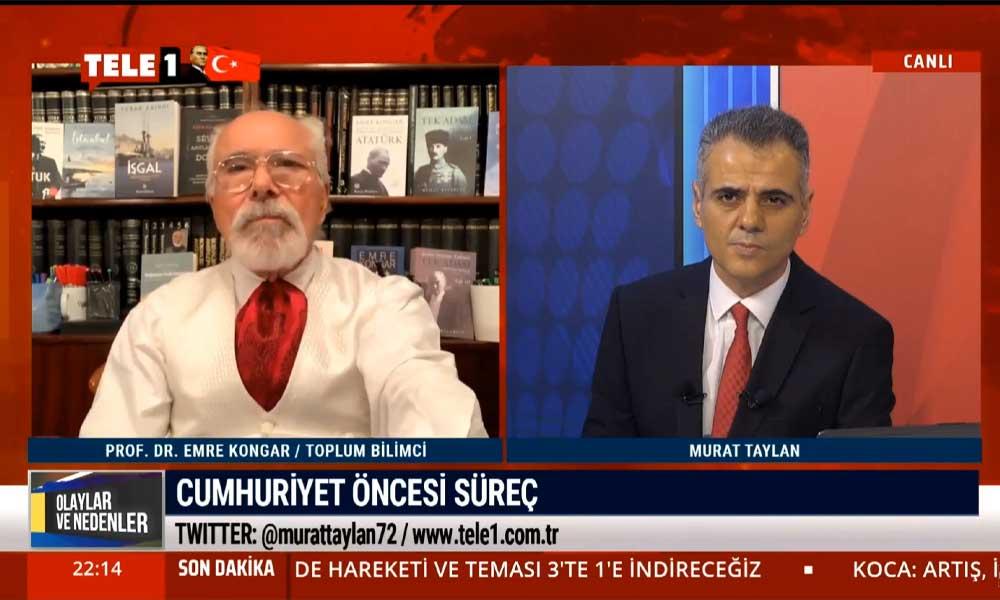 Emre Kongar: Atatürk'ü, Cumhuriyet'i ve İstiklal Savaşı'nı birbirinden ayırmak mümkün değil