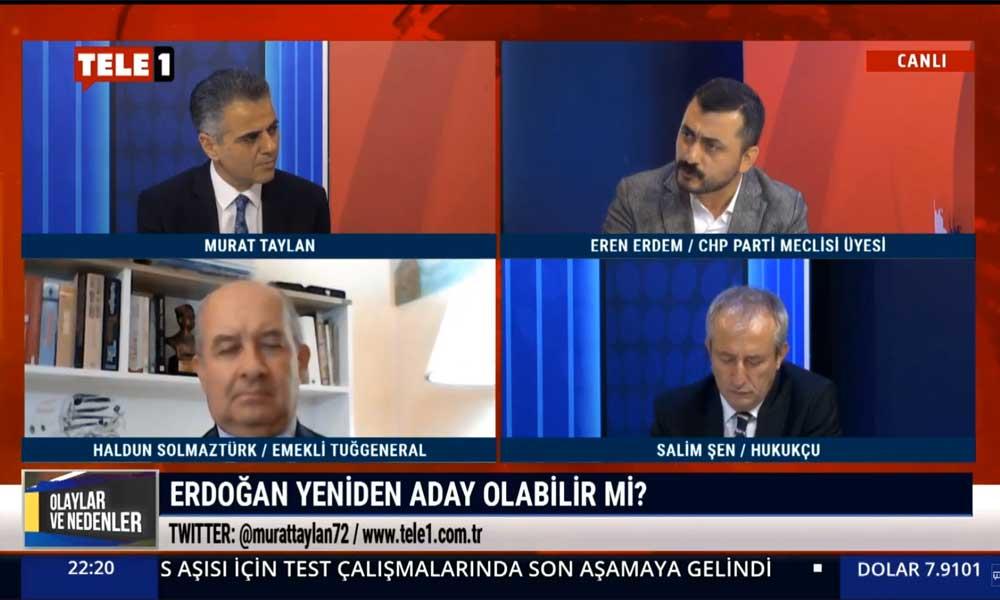 CHP PM üyesi Eren Erdem: Erdoğan, Hulusi Akar'ın kendisine darbe yapacağına mı inanıyor?