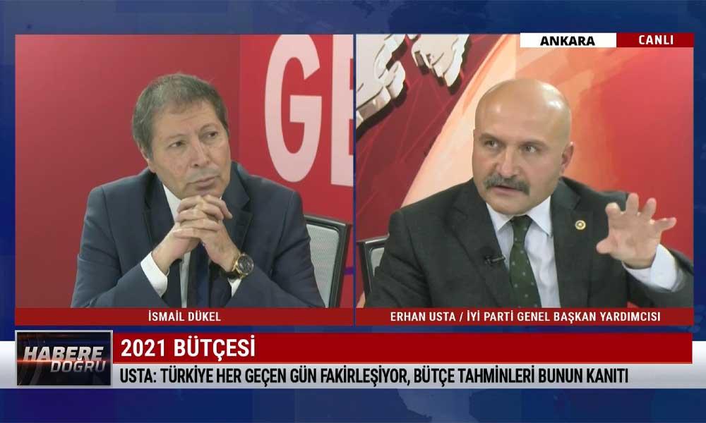 İyi Parti Ekonomi Politikaları Başkanı Erhan Usta: Hükümet 2023 kur hedeflerini birkaç güne tutturacak