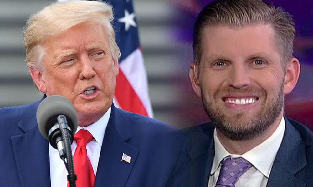 Eric Trump: Babam Hristiyanlığı tam anlamıyla kurtardı