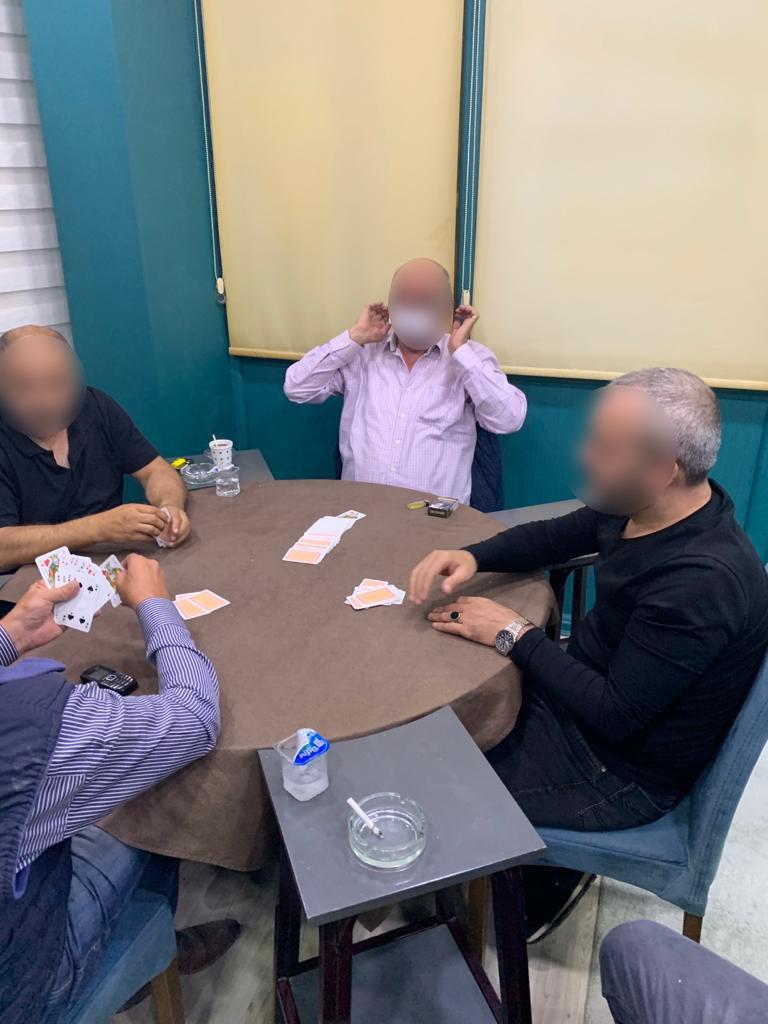 Kahvehanede kumar oynadılar 36 bin TL ceza ödeyecekler