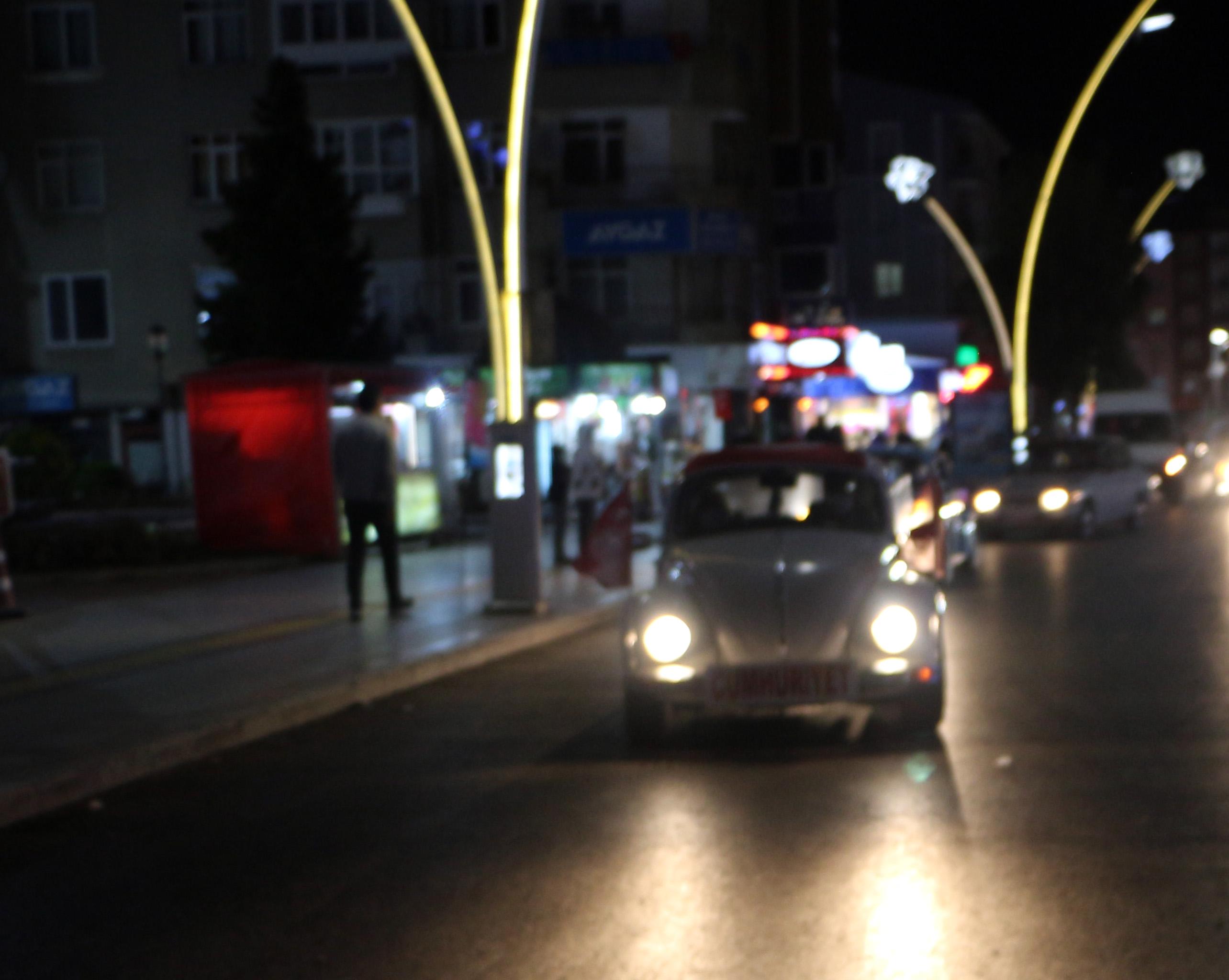 Klasik otomobil tutkunlarından Cumhuriyet Bayramı turu
