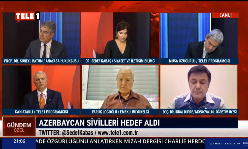 Emekli Büyükelçi Faruk Loğoğlu: Azerbaycan – Ermenistan arasındaki çatışmalar bir süre daha devam edecek
