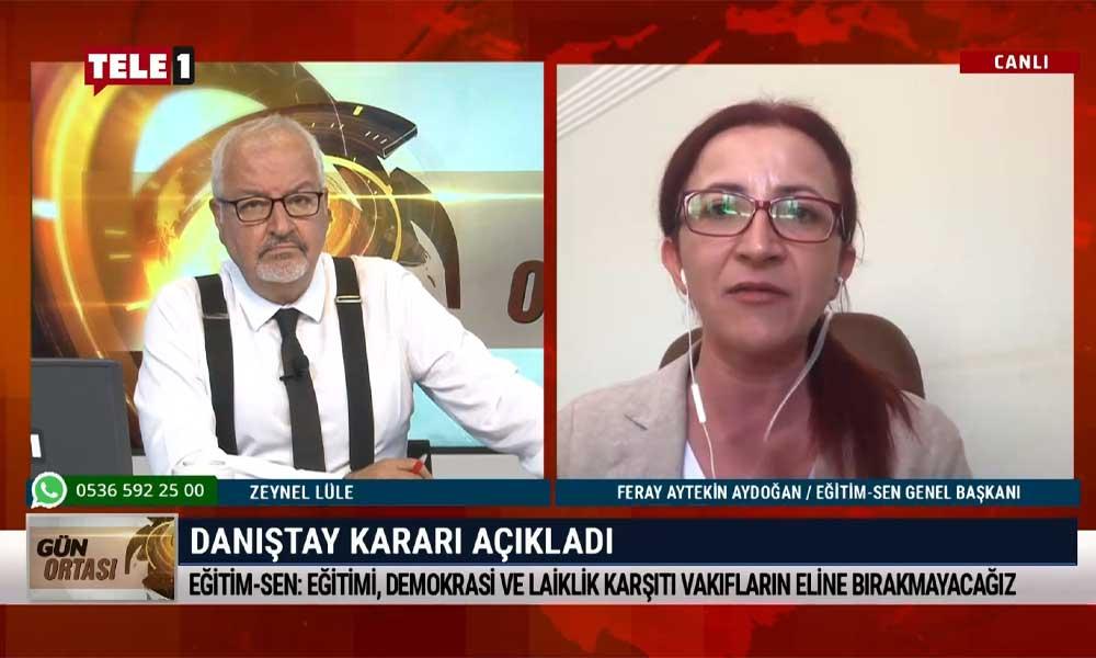 Feray Aytekin Aydoğan: Bakan değişse bile bilimsel, kamusal eğitimi hedef alan politikalar ısrarla sürdürülüyor