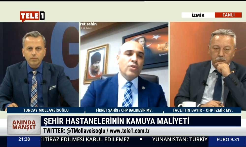 CHP Balıkesir Milletvekili Fikret Şahin: Şehir hastaneleri Cumhuriyet tarihinin kara deliğidir