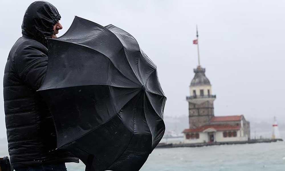 Meteoroloji'den uyarı: İstanbul ve çevre illerde fırtına!
