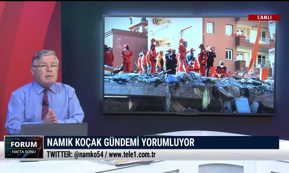 Deprem değil, bina ve onu yapan insan öldürüyor- FORUM HAFTA SONU