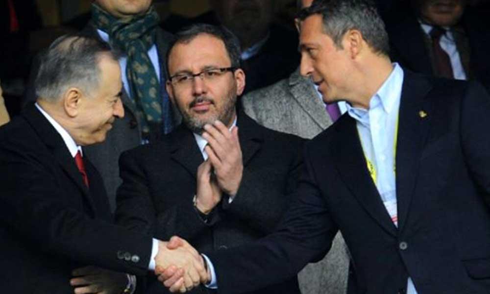 Fenerbahçe ve Galatasaray'dan ortak çalışma