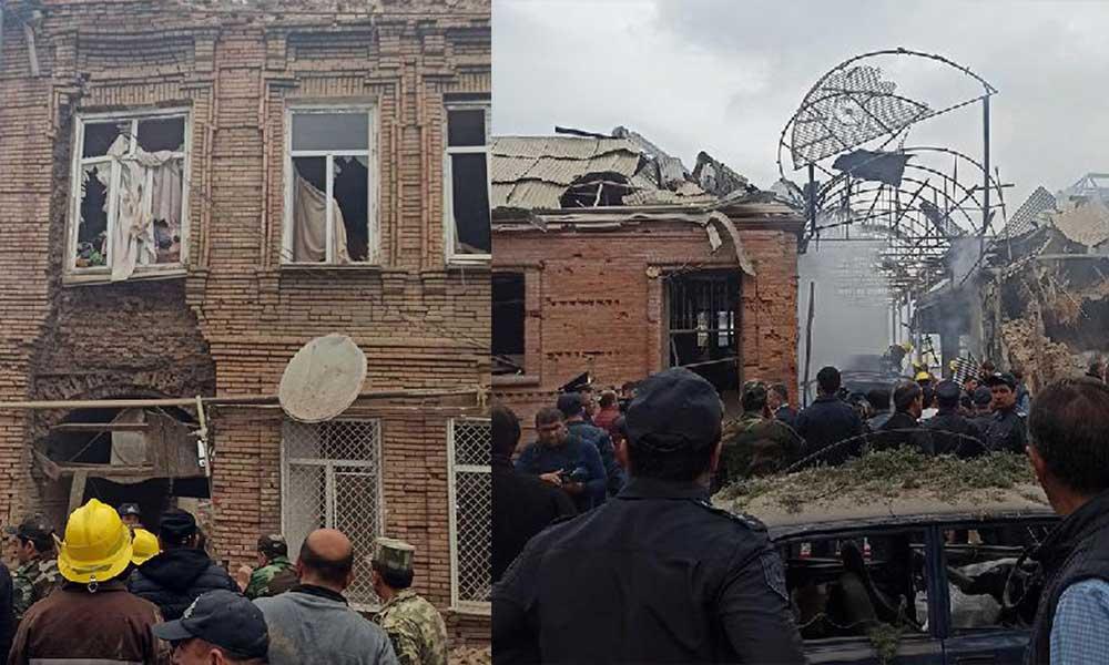 Ermenistan yine sivil bölgeye saldırdı