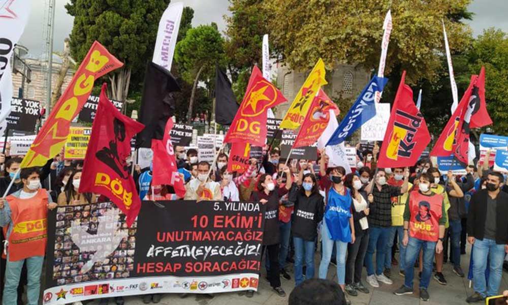 Gençlik örgütlerinden 10 Ekim anması: Hesabını soracağız
