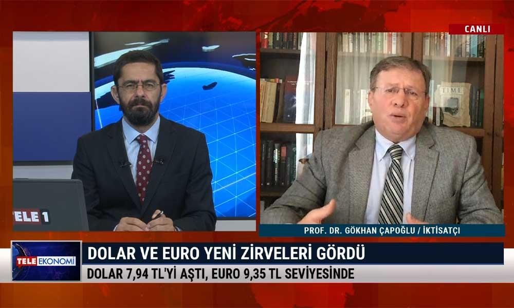 İktisatçı Prof. Dr. Gökhan Çapoğlu: Hiçkimse TÜİK'in enflasyon ve işsizlik rakamlarına inanmıyor