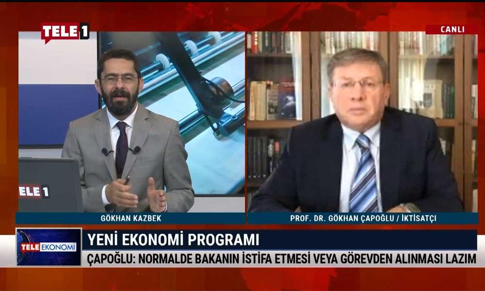 İktisatçı Prof. Dr. Gökhan Çapoğlu: Dolar kuru Berat Albayrak'ı ilgilendirmiyorsa orada ne işi var?
