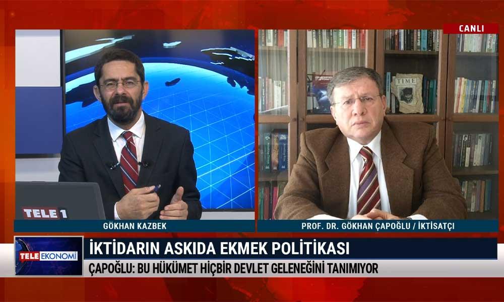 İktisatçı Prof. Dr. Gökhan Çapoğlu: Çok ciddi israf ve yolsuzluk bütçesiyle karşı karşıyayız