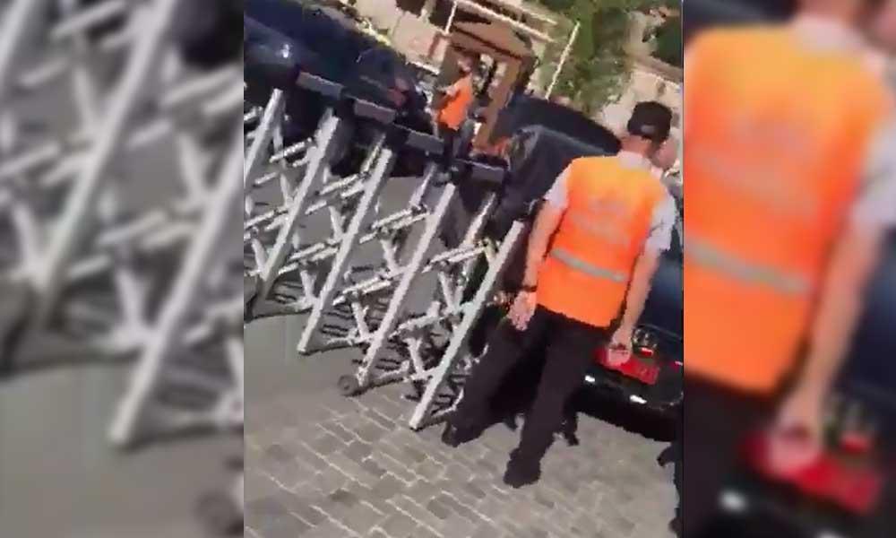 Bunun adı cinayete teşebbüs! MHP'li Haberal'in şoförü, belediye çalışanını kasten ezdi