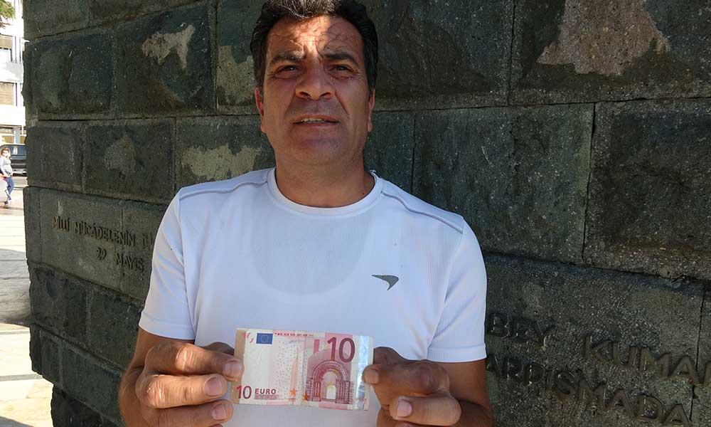 Beş yıl sakladığı 'hatalı basım' euro için alıcı arıyor