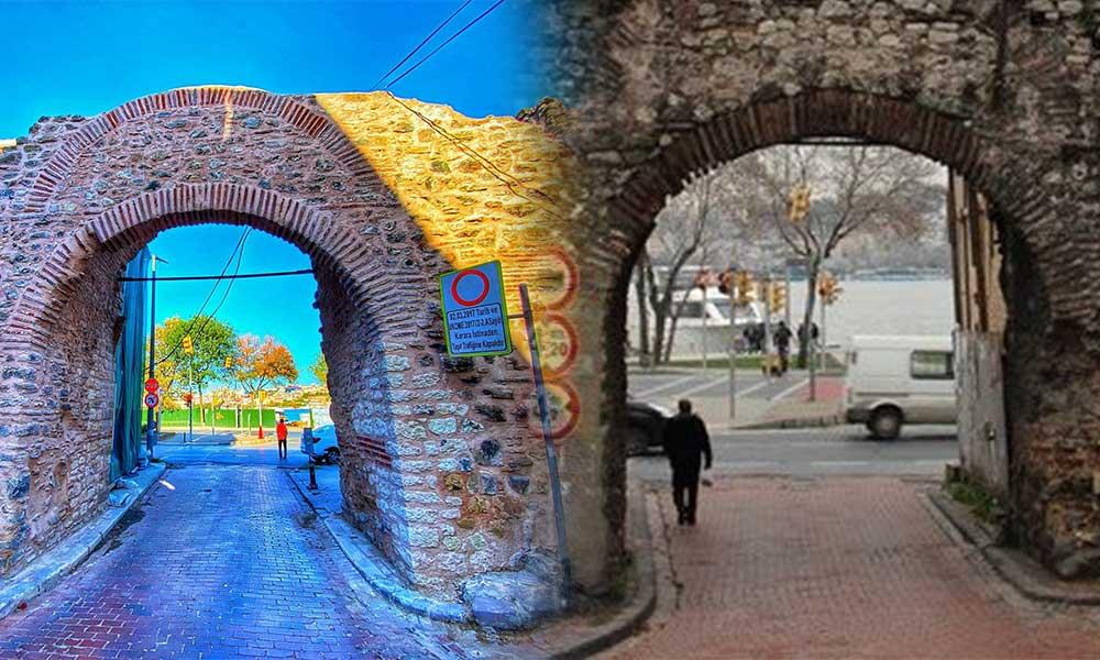 İBB tarihi kapının restorasyonunu tamamladı