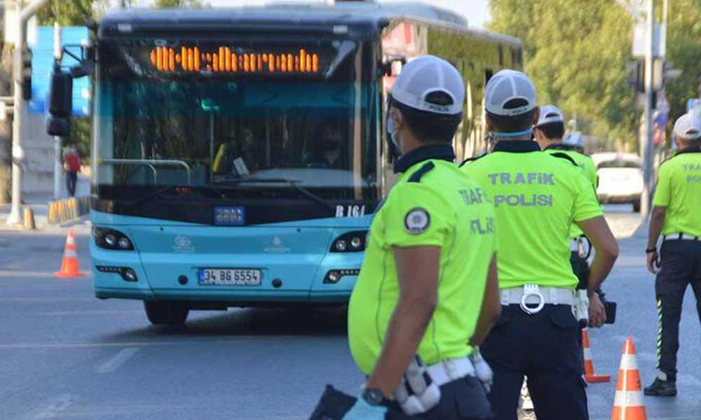 Karantinada olması gereken otobüs şoförü çalışırken yakalandı