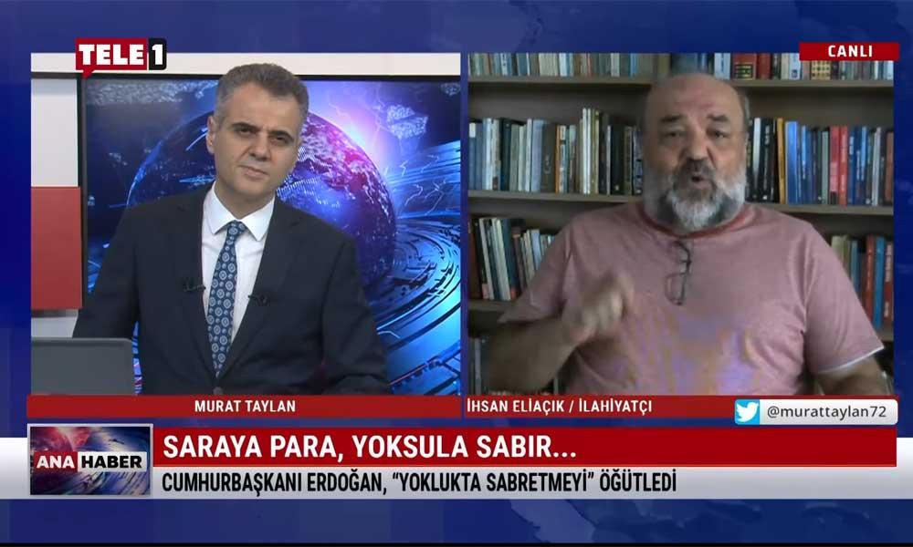 """İhsan Eliaçık, Erdoğan'ın """"Gerçek mümin yoklukta sabredendir"""" sözlerini değerlendirdi"""