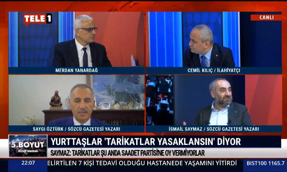 İsmail Saymaz: Bu ülkede sıradan vatandaş hükümet, devlet destekli tarikat saltanatının yıkılmasını istiyor
