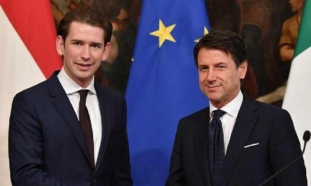 Avusturya ve İtalya'dan Erdoğan'ın eleştirilerinin hedefindeki Macron'a destek