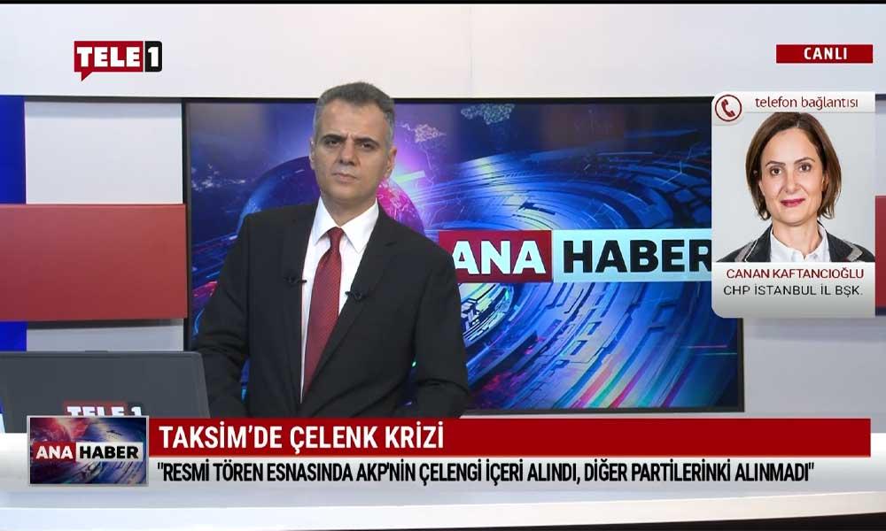 Canan Kaftancıoğlu: Cumhuriyet'in ilk yıllarını diktatörlüğe benzeten söylemler nedeniyle törenden ayrıldım