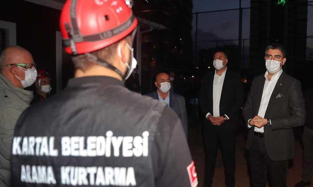Kartal Belediyesi'nden İzmir'e yardım eli
