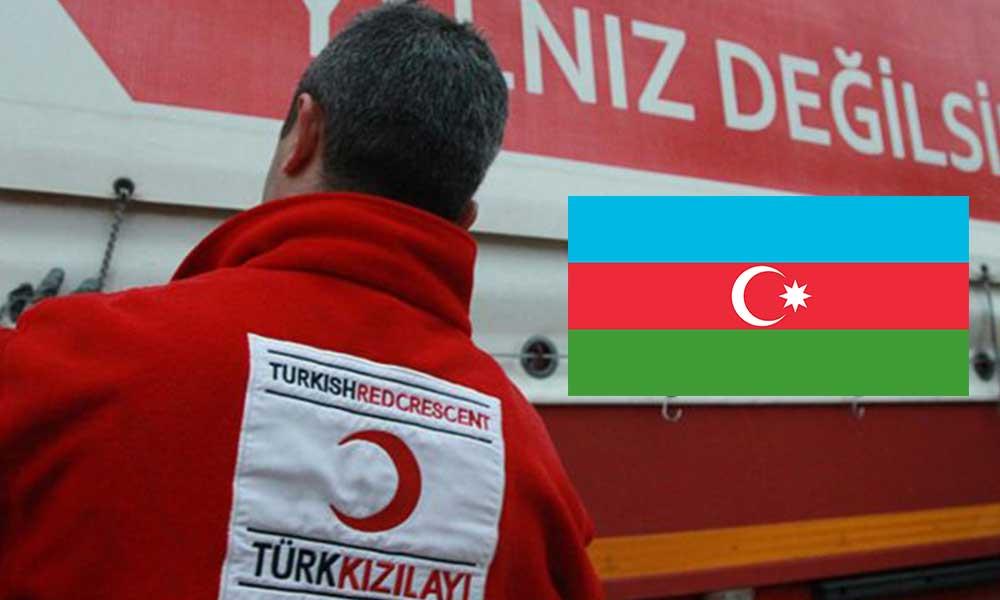Kızılay şimdi de Azerbaycan için para istiyor!