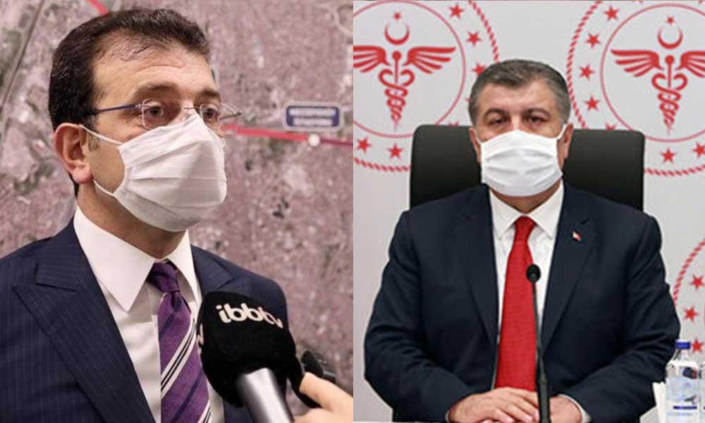 Sağlık Bakanı Koca İmamoğlu'na 'Geçmiş olsun' dedi, İstanbulluları uyardı