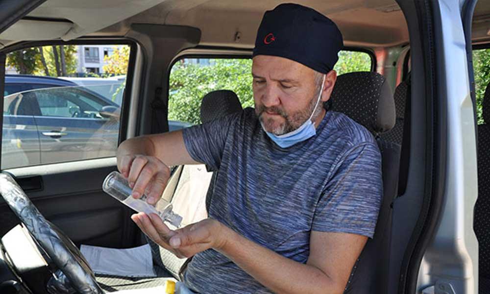 Alkol kullandığı gerekçesiyle ehliyetine el konuldu: Virüsten korunmak için yüzümü kolonyayla dezenfekte ettim